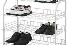 White Storage Unit Large Shoes Boot Rack Cupboard Stand Organizer Home Furniture