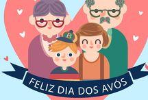 Dia dos Avós - 26 Julho / Venha celebrar o Dia dos Avós no Real Colégio de Portugal