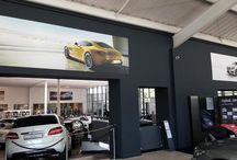 Interior graphics applied