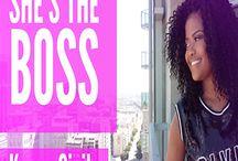 """MadameNoire's """"She's The Boss"""""""
