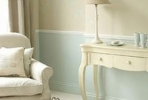 Cream joinery / Interior and exterior