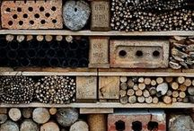 middle-sized wildlife gardens / Wildlife ideas, tips, wildlife ponds, bird houses, insect hotels, bug hotels and more