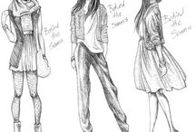 Sketch fashion