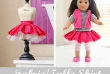 Dolls and doll clothes and accessories