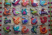 Sue Spargo quilts