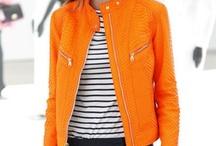 inspirations colors shapes orange / orange fashion