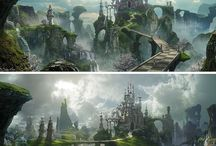 Fantasy - Castles, Palaces & Towers