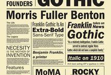 Graphic Design / Graphic Design, Branding, Typography, Print