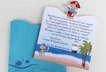 Great Baptism Invitations / Unique baptism invitations