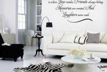 Muurschilderingen / Tekeningen die ik graag in heel mijn huis zou willen zetten per kamer...