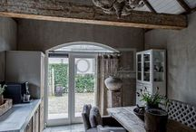 Rustic kitchens / by Nicola Chipps