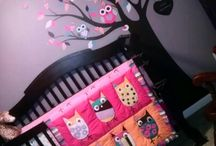 Nursery girl room