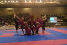 My acro team and me