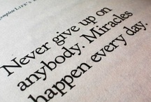 Quote It Up / inspiration