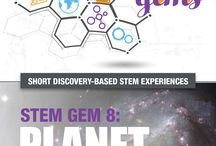 STEM Gems / STEM Gems are short discovery-based experiences. They involve little or no materials and may be easily implemented by educators who are not STEM specialists. Each STEM Gem is designed to engage young people in active experimential learning.