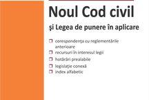 Legislatie actualizata / Noul Cod civil si Legea de punere in aplicare - Actualizat 17 septembrie 2015, Noul Cod de procedura civila si 12 legi uzuale, Noul Cod penal. Noul Cod de procedura penala.