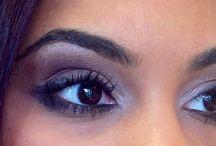 Smokey eyes / Cara make-up by Salon International Naples Fl.