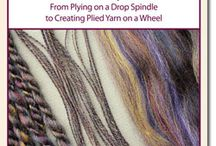 Plying / A collection of plying resources to teach how to ply yarn.