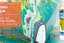 Pour Painting Art Supplies