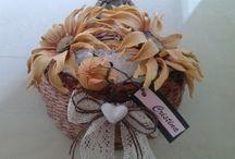 I MIEI FIORI IN PORCELLANA FREDDA / fiori realizzati a mano in porcellana fredda