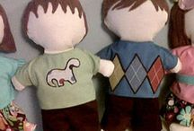 crafts - fabric dolls