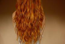 rot haare