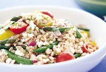 Spring Time Meals / Wonderful foods with organic emmer farro and organic einkorn (Einka) farro