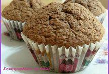 muffins/cupcake/cake pops / συνταγές για  κεικ/muffins/cupcake/cake pops