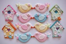 Cupcake toppers for girls