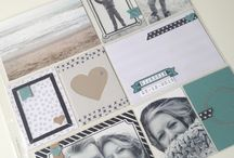 Stampin' up, project life
