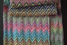chevron knitting