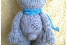 Игрушки вязание