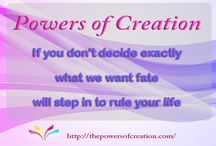 The Power of Creation / Quotes from Power of Creation