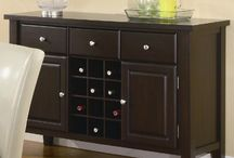 Wine & entertainment furniture / Choice pieces and ideas for storing alcohol and the such