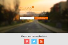 From the Beginning... / See how Bluurp transformed.