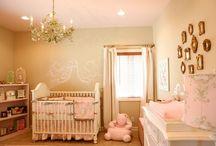 Baby girl nursery ideas / by Daesha Keithley
