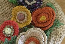 モチーフ / 様々な糸で編んだモチーフ