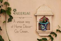 Blue Pottery Planters / #handmade#ceramicart#Potterypot#homedecor#gardendesign#pots#planters#unique#ecofriendly#greenbalcony#decorative#instadesign Shop now on https://www.neerja.com/category/pottery-products