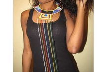 Collier Massaï / Collier africain,