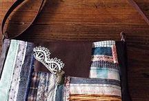 ハギレ(いろんな形の布で)で作る作品