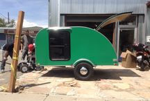 Green Machine / Hobbit Hole / Our wonderful client Laura let us build her this bad mother of a trailer. Her inspiration was The Hobbit and to be it looks like a green machine!