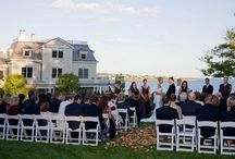Ceremonies / Overlooking the Cliff Walk and the Atlantic Ocean, stunning ceremonies take place at The Chanler all season long