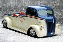 hot rods/trucks