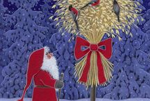 Christmas: Art / by Mrs. Claus Ornaments By Rebecca
