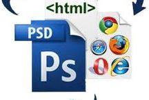 PSD to HTML  / PSD to HTML: HTMLPanda - Get the services for PSD to HTML from one of the best company in your budget with 100% satisfaction guarantee. / by HTMLPanda