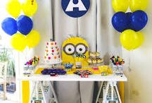 Luca's 1st Birthday / One in a Minion