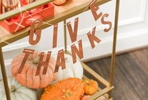 We're Thankful For.. / Thanksgiving Day recipes and entertaining ideas to help you make the most of your holiday.