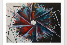 Paintings by Sarah Rowan Dahl