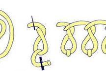 ściegi  haftu