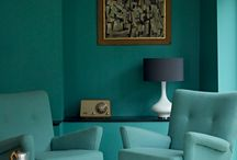 Turquoise Interiors / The power of Turquoise in your home